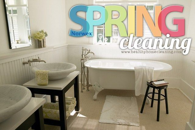 Spring Cleaning with Norwex tackles the dreaded bathroom! You may think that…