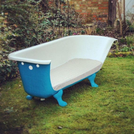 Upcycled Bathroom Ideas: Upcycled Reclaimed Cast Iron Roll Top Bath By