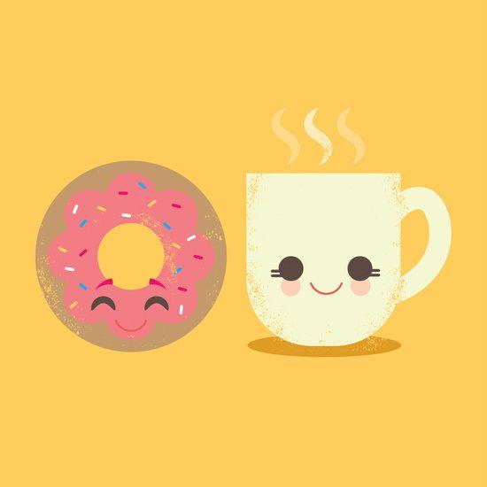 Kawaii Donut & Coffee