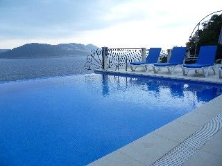 Spacious 5 bedroom villa,own swimming pool, Med is down 92 steps.Vacation Rental in Kas from @homeaway! #vacation #rental #travel #homeaway