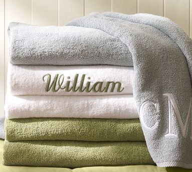 54 Best Images About Monogram Towels On Pinterest