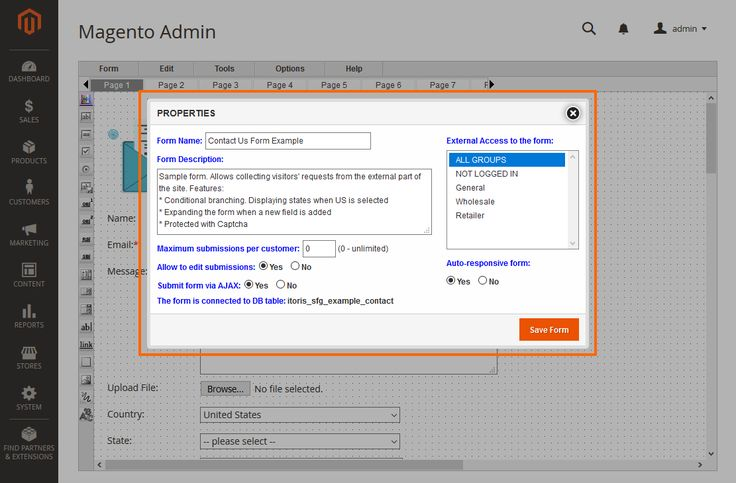 Advanced and powerful SmartFormer Gold will extend the default Magento 2 functionality and take your custom forms to a new level. Build custom forms of any complexity within minutes. Collect and store customer data in the Database, create email templates, edit validation rules, manage submissions, export data to CSV/PDF, use extra advanced editors, and more.