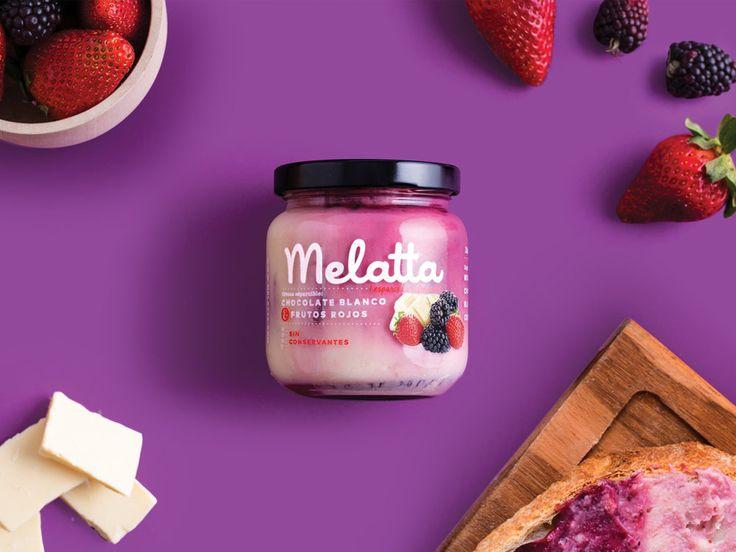 Melatta: Not Your Average Jam — The Dieline - Branding & Packaging Design