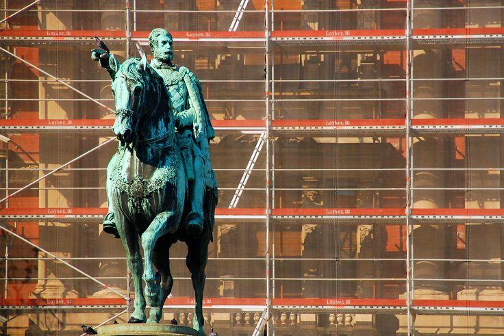 Prince Mihailo, Republic Square, city of Belgrade (Beograd)
