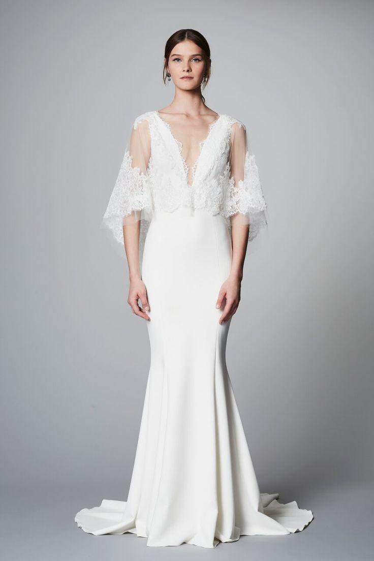 18 best SS18 Marchesa Bridal Lookbook images on Pinterest   Short ...