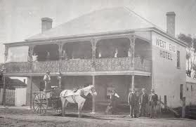 West End Hotel - Mudgee NSW c.1900