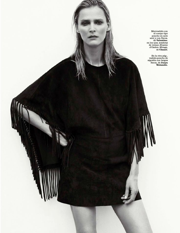 indian story: carmen kass by philip gay for marie claire spain july 2014