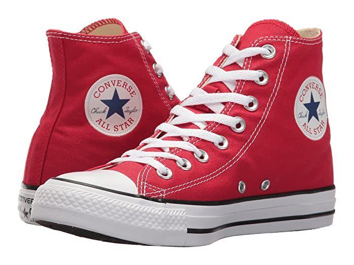 Converse Chuck Taylor All Star Core Hi Zappos Com Converse Classic Red Sneakers Chuck Taylors
