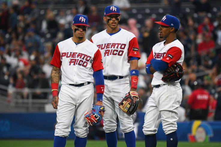 Javier Báez, Carlos Correa y Francisco Lindor que duo tiene el equipo de PuertoRico. #PuertoRico #TeamPR #YoSoyBoricua #WBC2017