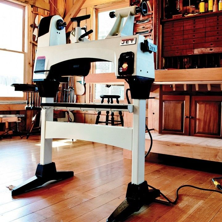 Jet® JWL-1015 10'' x 15'' Wood Lathe and Stand