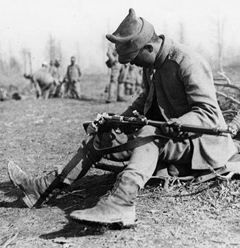 WW1 Sept 3, 1916 - Central Powers Invade Romania, Bulgarians Bomb Bucharest. Pictured - Not as easy as they'd hoped. Ethnic Romanians welcomed the advancing army that invaded Transylvania, giving hope to Bucharest's plan for a short...