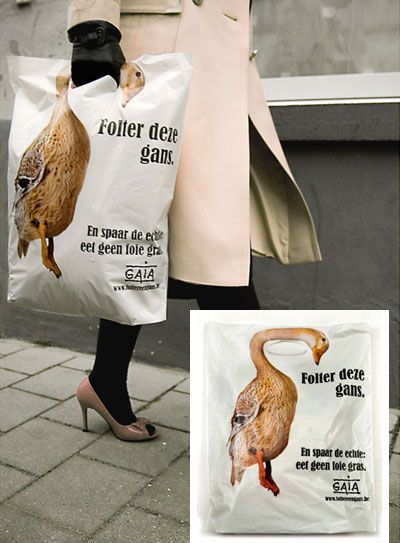 Creative Shopping Bag Designs - http://www.visual-blast.com/other/creative-minds-the-most-stunning-shopping-bag-designs/