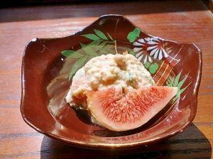 季節の味わい 無花果の白和え レシピ・作り方 by みー5548|楽天レシピ