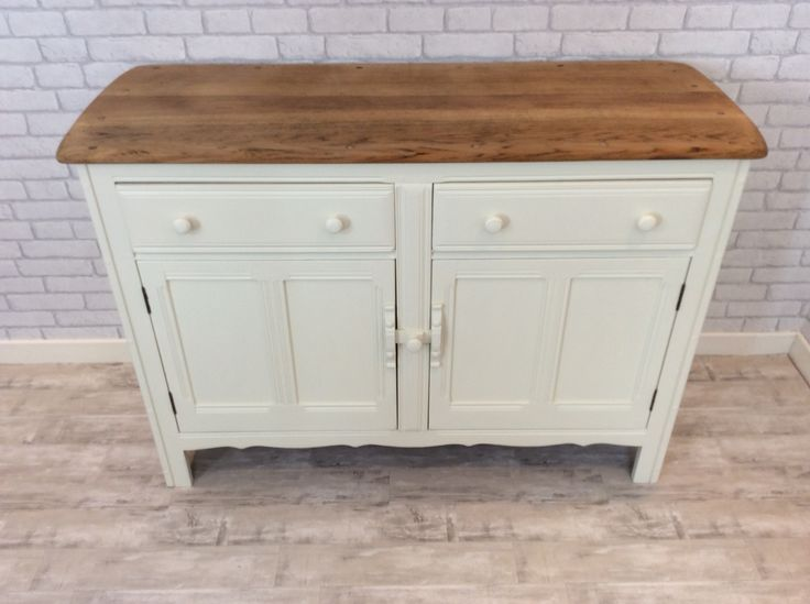 Original Ercol sideboard, stripped and painted - looking good!