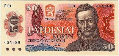 Státovky a bankovky (1953-1993) - Papírová platidla, bankovky