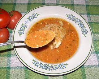 W Mojej Kuchni Lubię.. : pomidorowa z pomidorów na udach kurczaka z ryżem.....