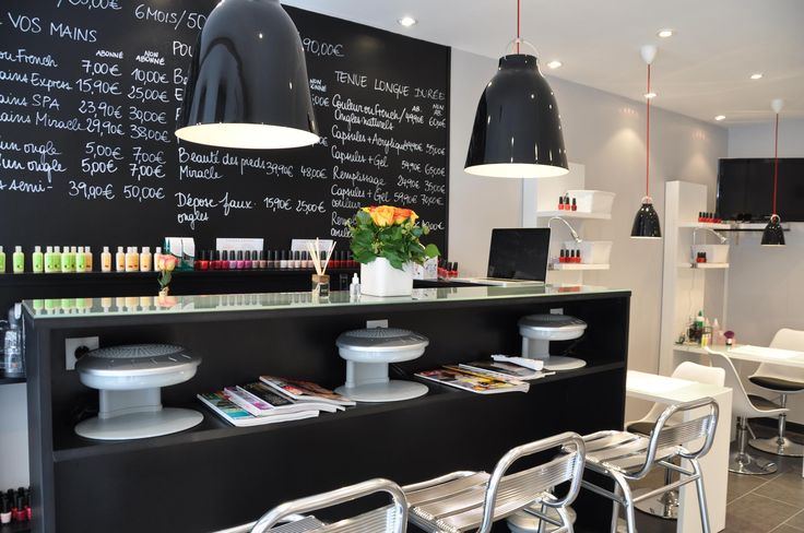 Nail factory in Paris - This nail salon is one of the best places to get your nails done in Paris.