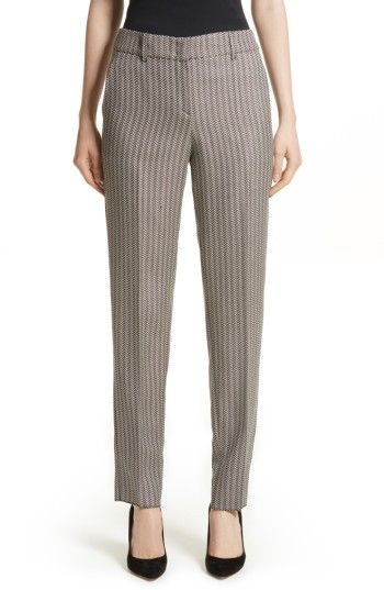 Free shipping and returns on Armani Collezioni Herringbone Slim Pants at Nordstrom.com. A timeless sartorial staple, wool-blend herringbone pants are woven with mulberry silk and a hint of stretch for comfortable movement and a soft hand.