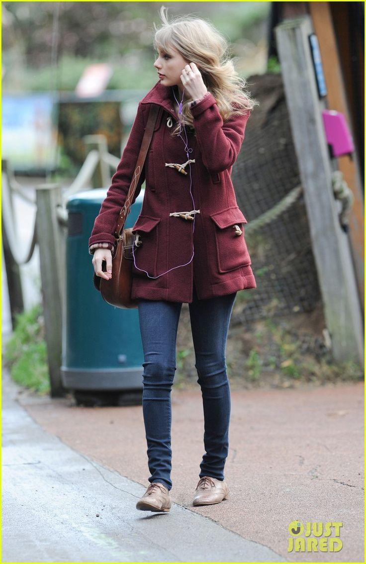 Burberry coat, Ralph Lauren purse