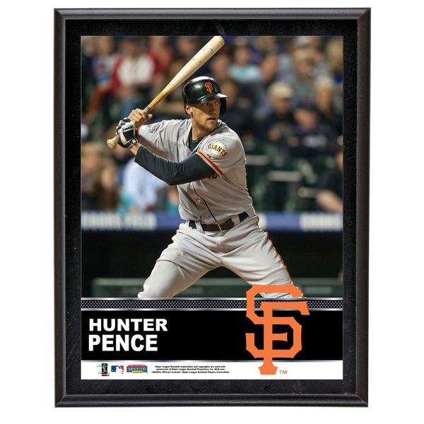 "Hunter Pence San Francisco Giants Fanatics Authentic 10.5"" x 13"" Sublimated Plaque - $29.99"