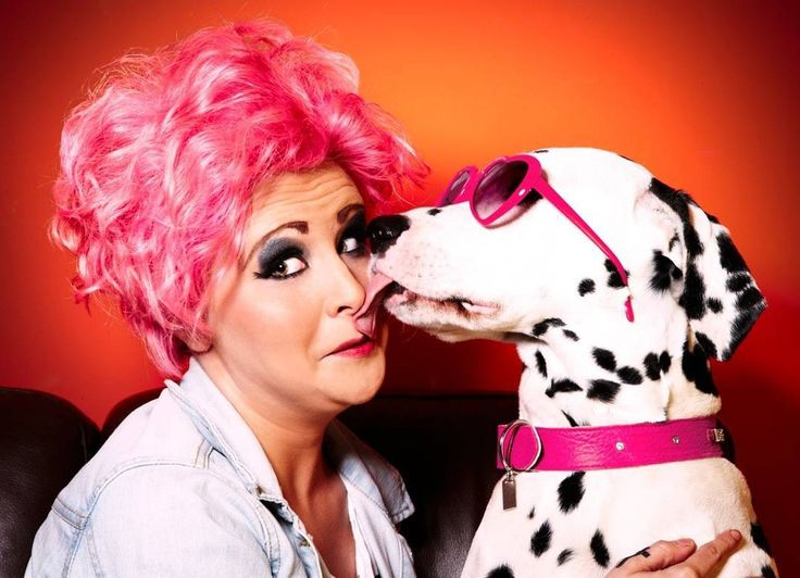 From: Pam Sciambarella  @pam_sciam  I took it as part of a fun day's shoot with my local hairdressers for some promo work. The owner thought it would be fun to get her dog involved and this pretty much sums the fun of the day up!  I love colour fun and cute animals I suppose! I don't take myself too seriously (most of the time) and I think that at this time of tension & crises throughout the world it's great to be able to just have a bit of fun now and again.  #Womeninphotography #pinkhair…