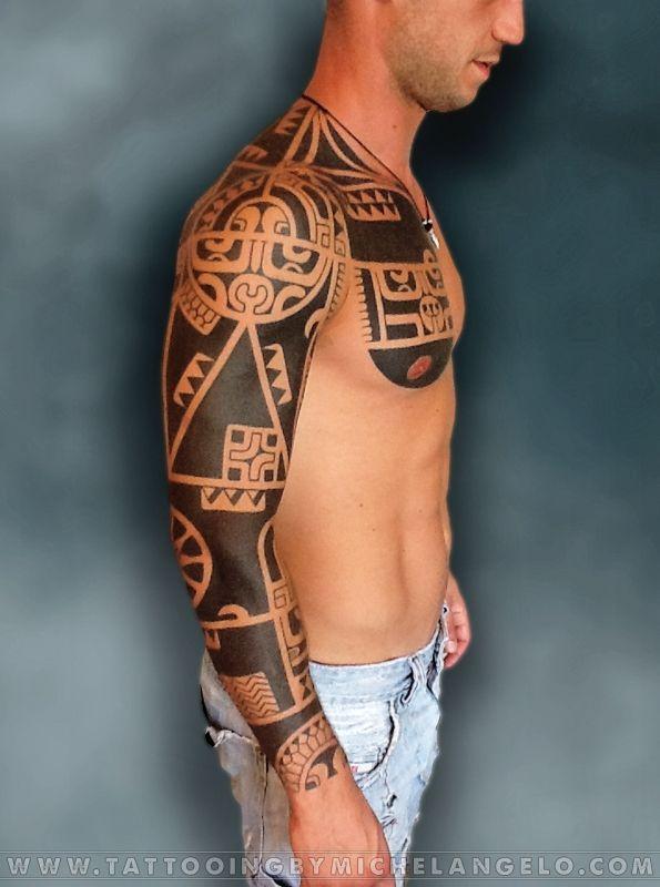 Manica marchesana   stile marchesano blackwork    Tattoo by Michelangelo   Tribal tattoos   Tatuaggi tribali