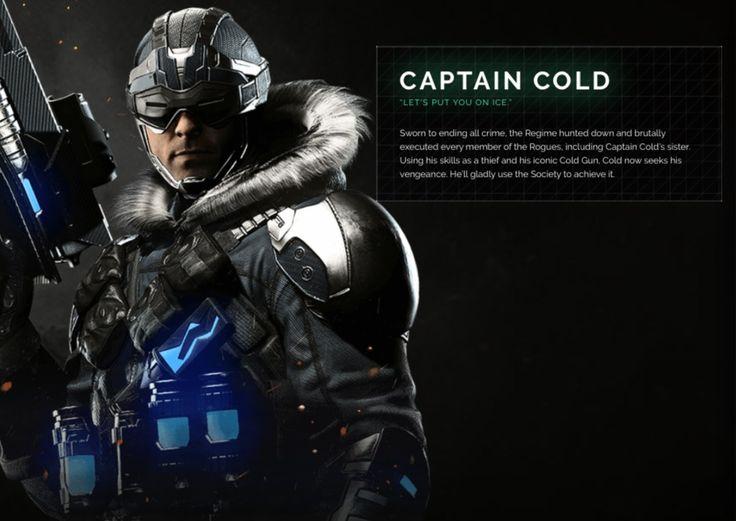 Captain Cold Injustice 2 Character Portrait | injustice.com