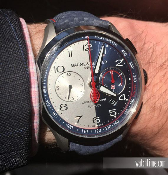 Baume & Mercier: Clifton Club Shelby Cobra CSX2299 Limited Edition