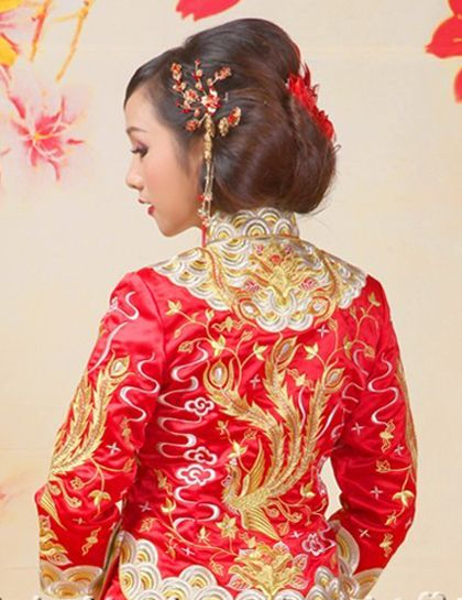 303 best Chinese Traditional Wedding Dress / Bridal Kwa Qun Couture ...