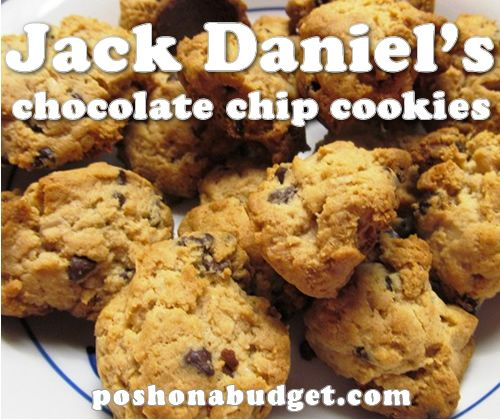 Jack Daniel's Chocolate Chip Cookie Recipe