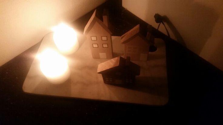 #HYGGE  i køkkenet. Marmor spækbræt fra netto. .:)