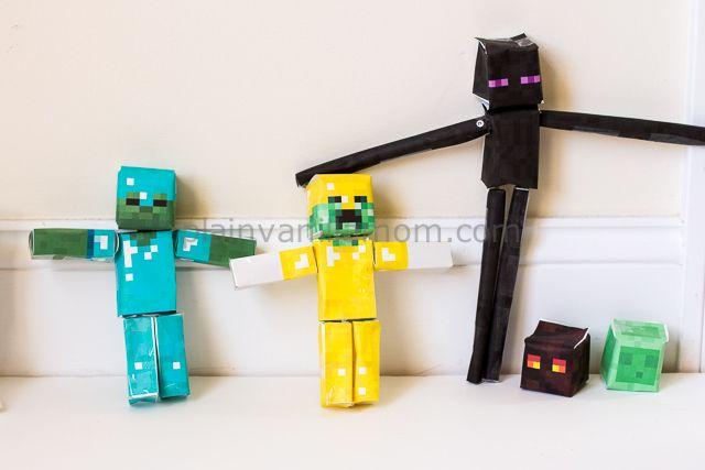 Minecraft Papercraft Studio - Plain Vanilla Mom