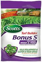 This lawn fertilizer provides protection and will kill dollarweeds and other com…