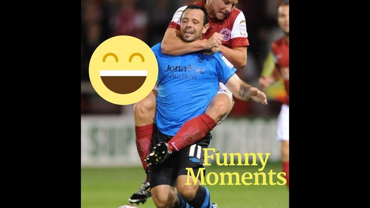 BEST OF - Funny Football Comedy Moments - Bloopers, Fails and More - YouTube