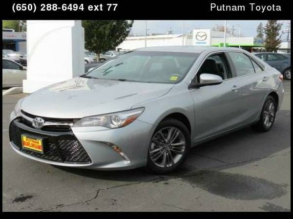 2016 Toyota Camry SE Sedan 4D 4 Door Car Silver
