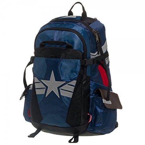 Captain America Suit Up Better Built Backpack. #Captain #America #Suit #Better #Built #Backpack