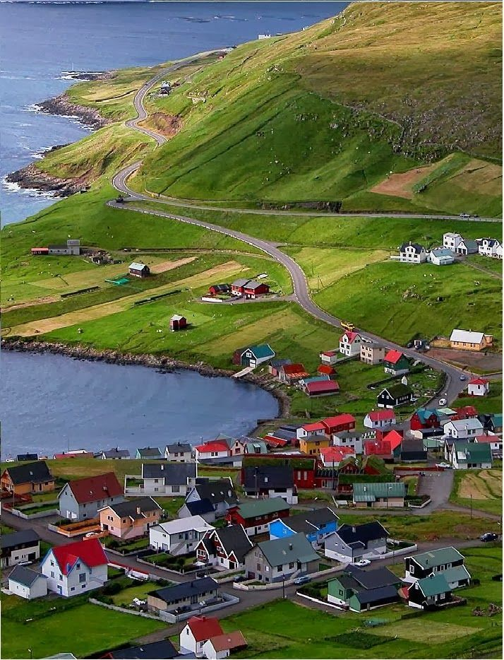 9 Real Life Fairytale Villages in Europe - Between Iceland and Norway, you will find the Faroe Islands shrouded in a fog and mist. The backdrop for Lord of the Rings, these enchanting islands will lure you into a world of fantasy.