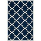 Chatham Dark Blue/Ivory 8 ft. 9 in. x 12 ft. Area Rug