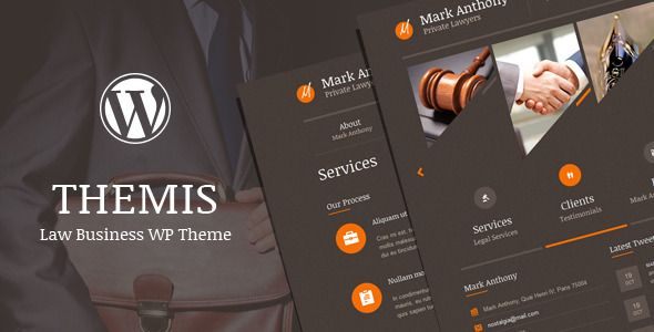 Themis is a modern business WordPress Theme that is perfect for lawyers, law firms, attorneys, judges, legal corporations, justice corporations and for any legal and law related businesses. It has a responsive layout that looks great on mobile and tablet devices. Tags: wordpress, theme, advocate, attorney, business, corporate, court, finance, judge, justice, law, lawyer, legal, minimal, minimalistic, office, responsive.