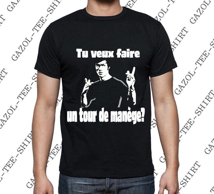 T-shirt Tu veux faire un tour de manège? : Tshirts, polos par gazol-tee-shirt