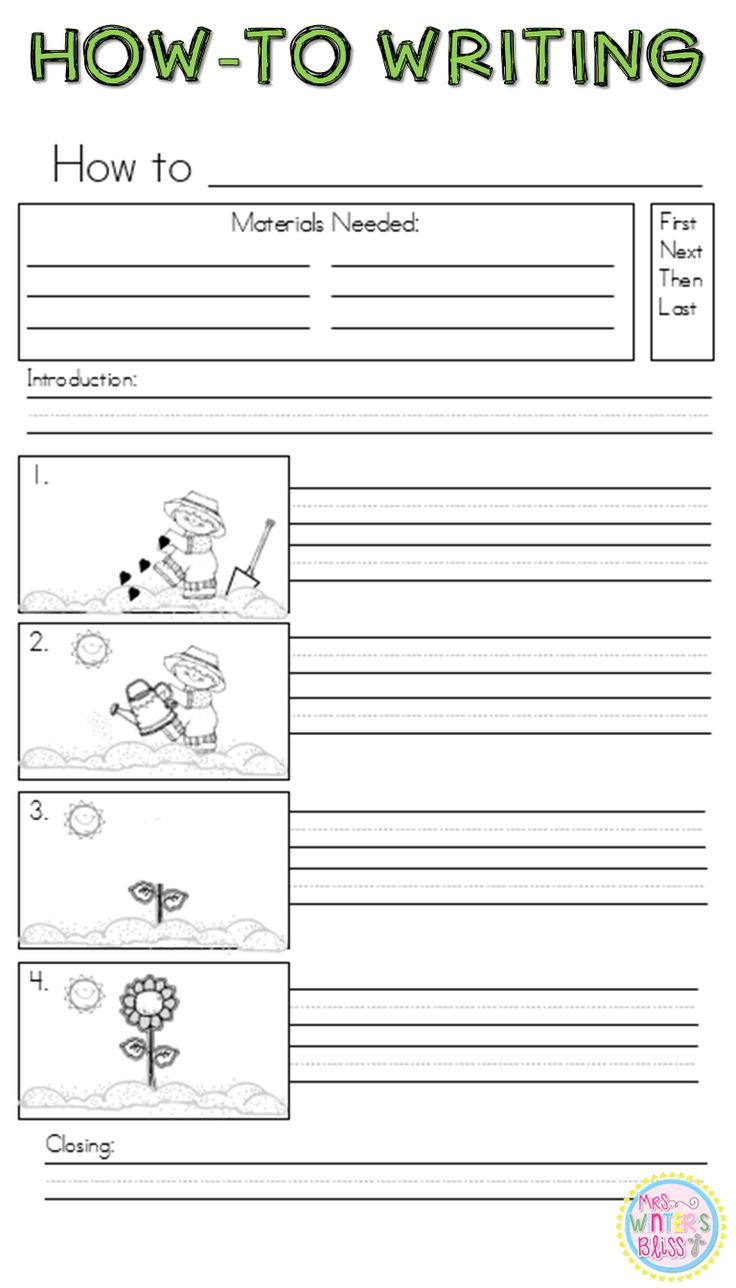 Writing future tense of verb worksheet turtle diary - How To Writing How To Grow A Plant Writing Procedural This Is One Of