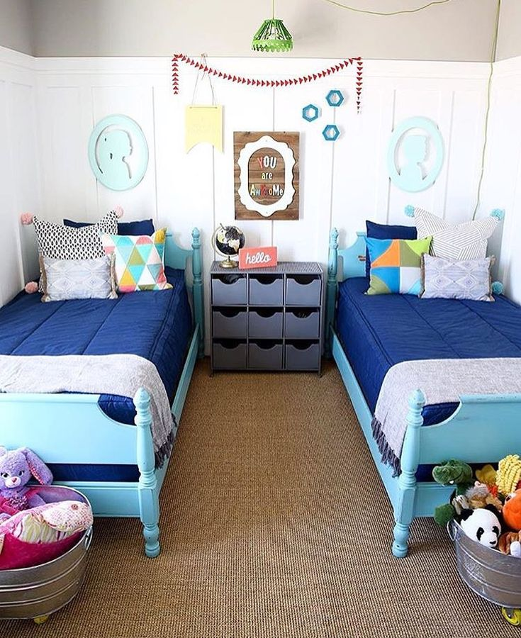 1000 ideas about teen study room on pinterest study for Brother and sister shared bedroom ideas