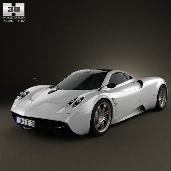 Buy Pagani Huayra 2012 By On The Model Was Created On Real Car Base.