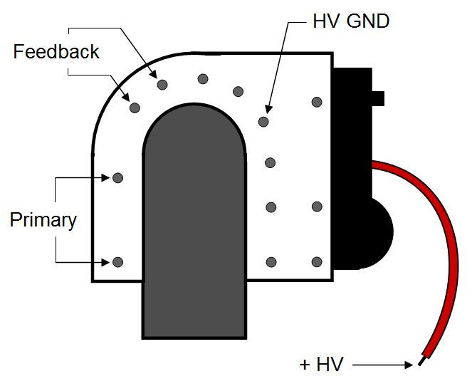 schematic of a flyback transformer yahoo image search. Black Bedroom Furniture Sets. Home Design Ideas