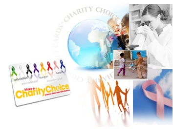 Charity Gift Cards-you donate and your friend picks the charity.  Charity-Choice Gift Cards are 100% tax deductible. Charity gifts are a great tax deduction for personal finance and business gifts. Your donation gift card can be an online e-card, plastic card or customized certificate.