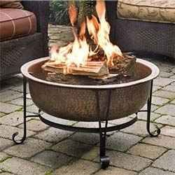 Even though some of these portable fire pits are pretty big, none of them are attached to the ground (as a cemented or dug firepit)