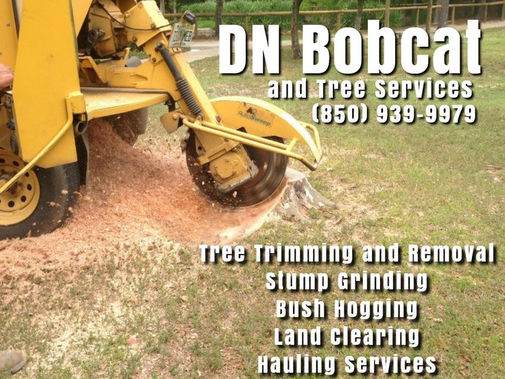Our Navarre Bobcat and Tree Services carries the correct