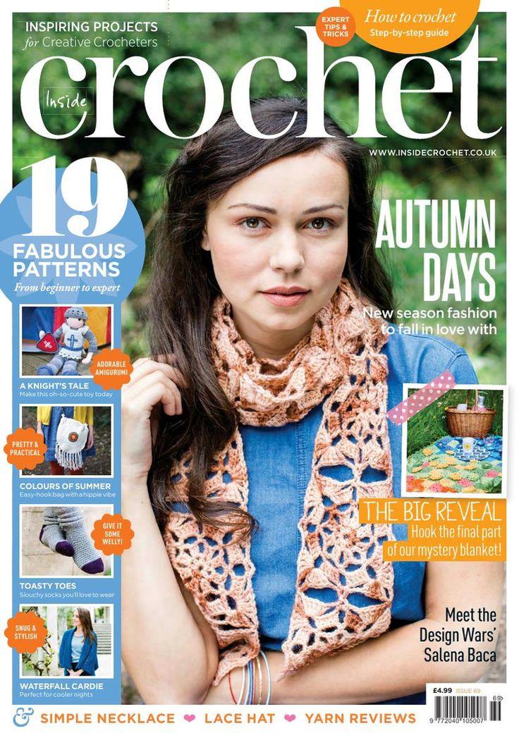 Inside Crochet  Issue 69 2015 - 轻描淡写 - 轻描淡写