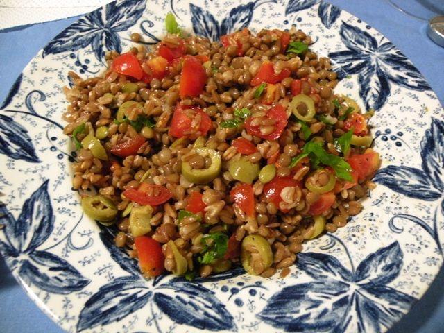 Insalata di lenticchie e farro – Vegan blog – Ricette Vegan – Vegane – Cruelty Free