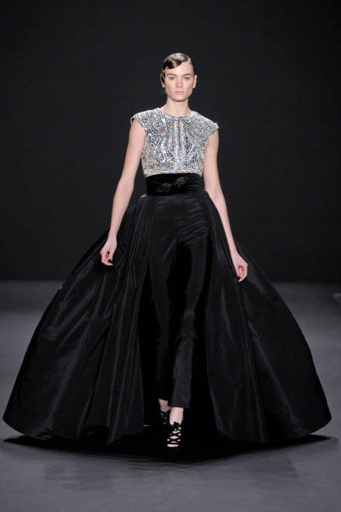 23 best nyfw runway and street style images on pinterest for Lucille ball wedding dress